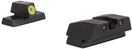 Trijicon Beretta HD Night Sight Set Beretta APX Models (Yellow Front Outline) Md: BE115-C-600978