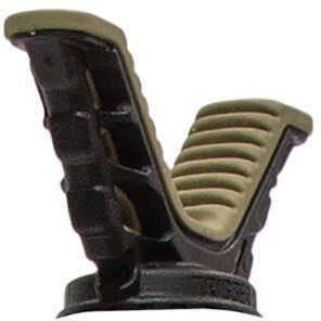 Primos 6550 Trigger Stick Gen 3 V-Yoke Rotating Black/Tan