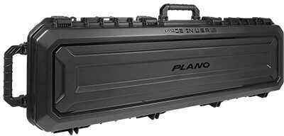 "Plano PLA118521 All Weather Double Gun Case 53.5"" X 17"" X 7"" (Exterior) Polymer Black"