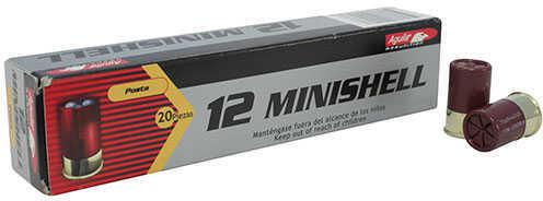 "Aguila Ammunition 12 Gauge 1 3/4"", 5/8 oz, #1 and #4 Buck, 6 Point Star, 11 Pellets, Per 20"
