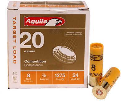 AGU Target Load 20Ga 2.75 7/8Oz #8 25/10