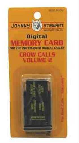 Johnny Stewart Digital Memory Card Crow #2 Memory Card Md: Mc-Cr2