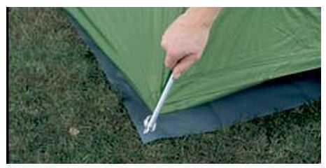 Eureka! Tent Accessories Floor Saver/Multi-Room L Md: 2660165