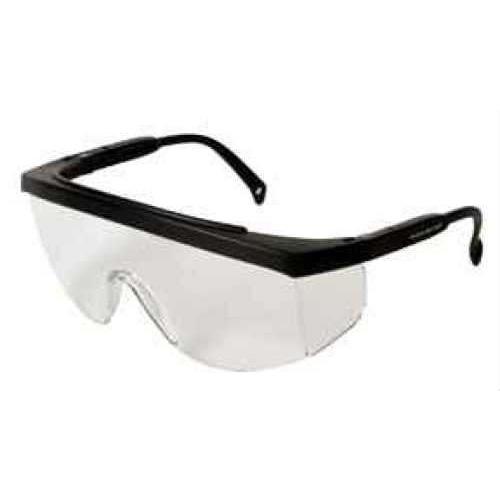 Radians G4 Junior Glasses Clear Lens, Black Frame Md: G4J110BP