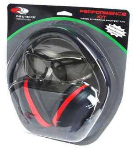 Radians Performance Kit Dark Smoke Lens, Black Frame Md: SLRV0120