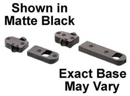 Burris 2 Piece Base Savage Short/Long Round Rear Black Gloss Md: 410245