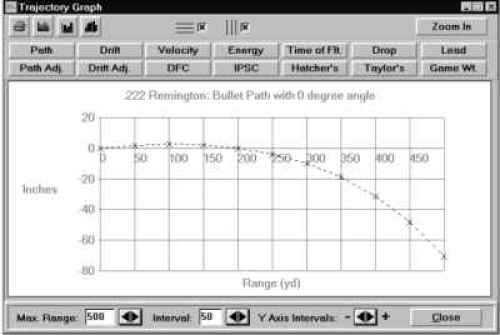 Chrony Ballistics II Software Md: Ballistics II SOFTWA