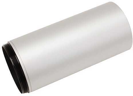 """Leupold Alumina Lens Shade 4"""" 40mm Silver Md: 56191"""