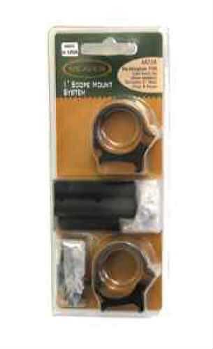Weaver Rifle Mount System W/Med Rings Medium Rings, Black Md: 48736