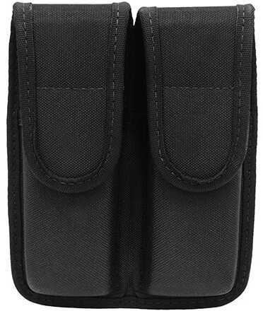 Bianchi 8002 Double Magazine Pouch Black, Size 04 Md: 31303
