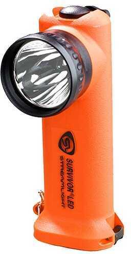 Streamlight Survivor Led Flashlight, Orange, Battery Powered Md: 90540