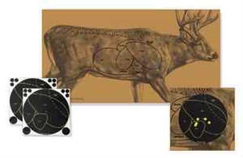 Birchwood Casey Shoot-N-C Targets: Sight-In & Specialty Deer Target Kit Md: 34681