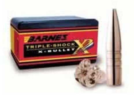 Barnes 9.3mm Caliber 286 Grain Triple Shok X Flat Base Per 50 Md: 36628 Bullets