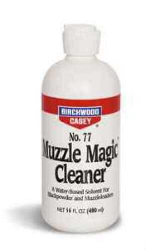 Birchwood Casey No. 77 Muzzle Magic Cleaner, Black Powder, Flip Top Md: 33745