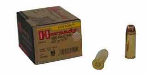 480 Ruger® By Hornady 480 Ruger® 400 Grain XTP Mag Per 20 Ammunition Md: 9144