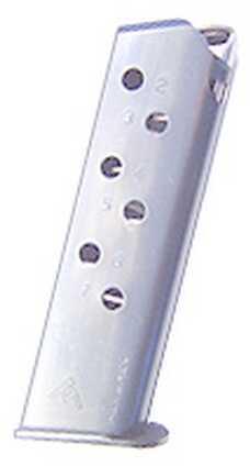 Mecgar Walther 7 Round Standard Nickel Md: MGWPPKSSTN