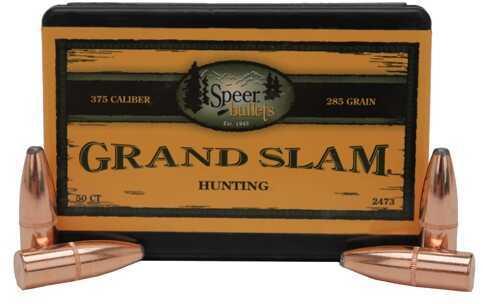 Speer 375 Caliber 285 Grains SP Grand Slam Per 50 Md: 2473 Bullets