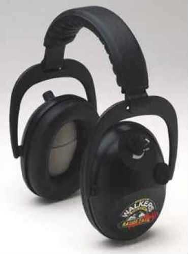 Walkers Game Ear Power Muffs W/Aft, Black Md: WREPMB