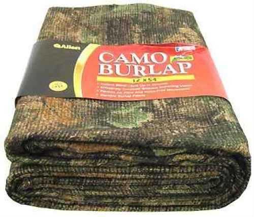 Allen Blind Fabric Camo Burlap Fabric, Oakbrush Green Md: 2566