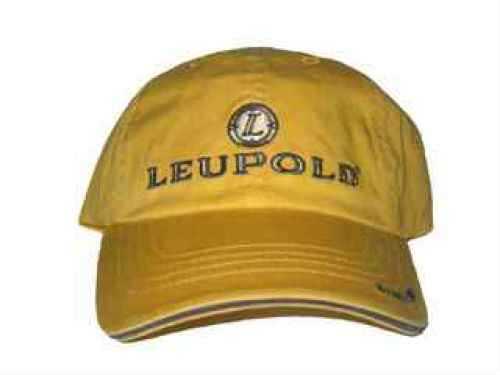 Leupold Cap With Logo Yellow Md: Yellow