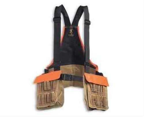 Browning Pheasants Forever Strap Vest, Field Tan/ Orange Md: 30511732