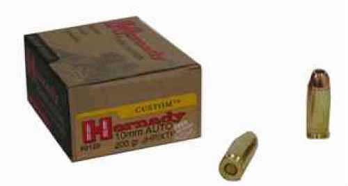 10mm By Hornady 200 Grain JHP/XTP Per 20 Ammunition Md: 9129