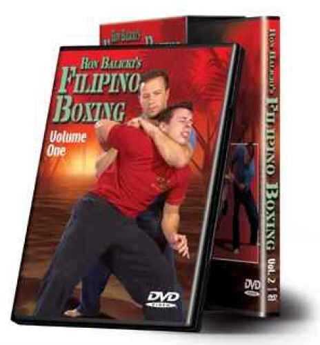 Cold Steel Training DVD Ron Balicki's Filipino Boxing Md: VDFB