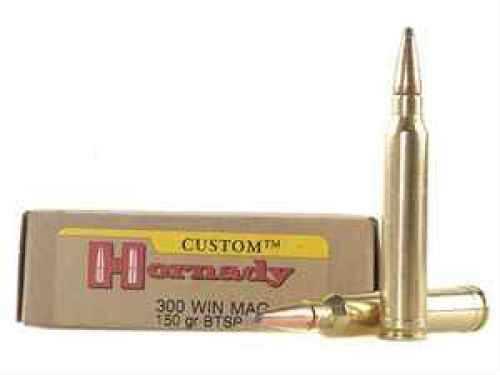300 Winchester Magnum By Hornady 150 Grain BTSP Per 20 Ammunition Md: 8201