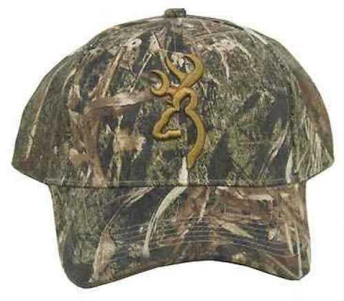Browning Camo Cap Camo Cap With 3-D Buckmark, Mossy Oak Duck Blind Md: 308479171