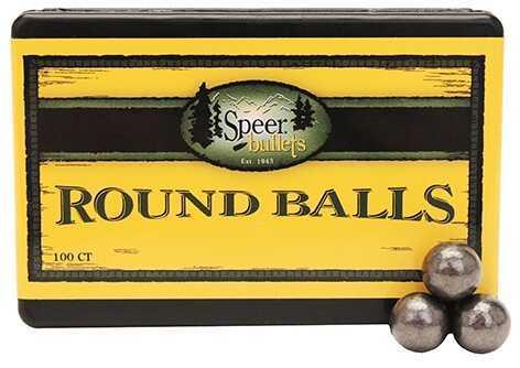 Speer Lead Round Balls .375 80 Grains Per 100 Md: 5113