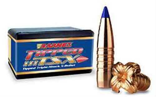 Barnes 7mm Caliber 140 Grain Tipped Triple Shok X Boat Tail Per 50 Md: 30300 Bullets