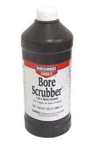 Birchwood Casey Bore Scrubber 2-In-1 Cleaner 32Oz Md: 33646