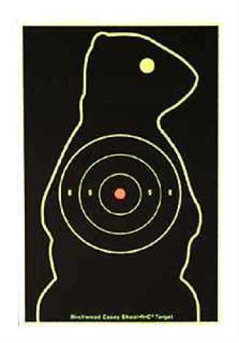 Birchwood Casey Shoot-N-C Animal Target Kits Prairie Chuck Target, Per 12 Md: 34776