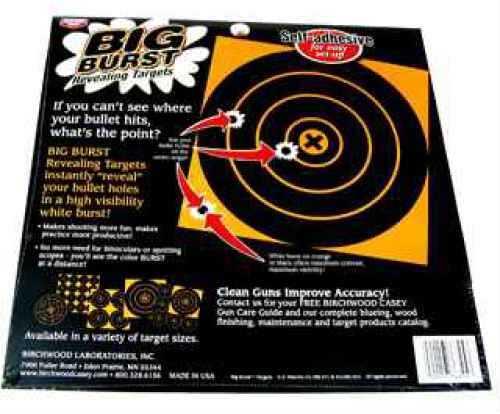 """Birchwood Casey Big Burst Targets 8"""" & 4"""" Targets Md: 36825"""