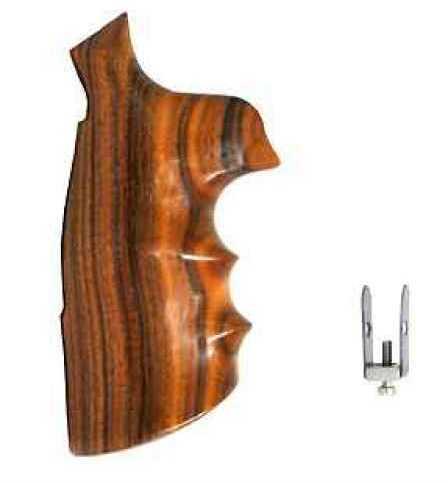 Hogue Wood Grips - Pau Ferro N Round Conversion Md: 25302