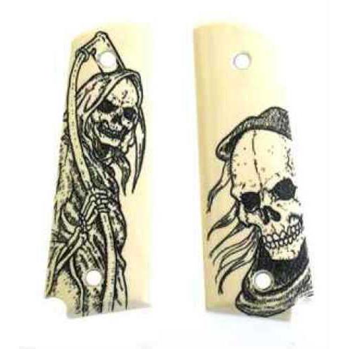 Hogue Scrimshaw Grips Reaper Md: 45026