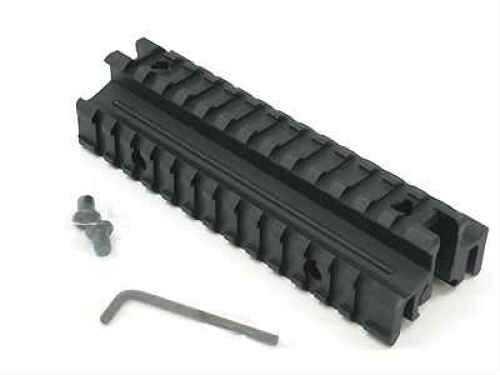 Weaver AR-15 Tri Rail, Flat Top, Matte Black Md: 48323