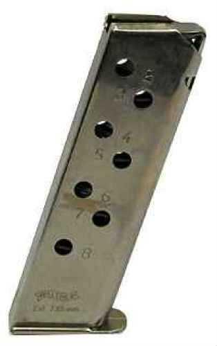 Walther PPK/S Magazine .32 ACP 8Rnd Standard Nickel Md: VAF24212