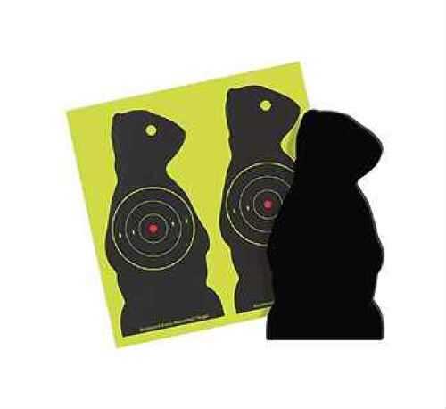 Birchwood Casey Sharpshooter Targets SDPC-6 Chuck 6 Pack Md: 38776