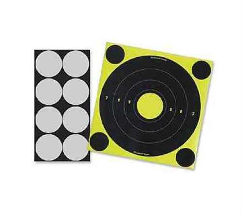 "Birchwood Casey Lt-6 ShootNC 8"" Round Laser 6-Pack Md: 34807"