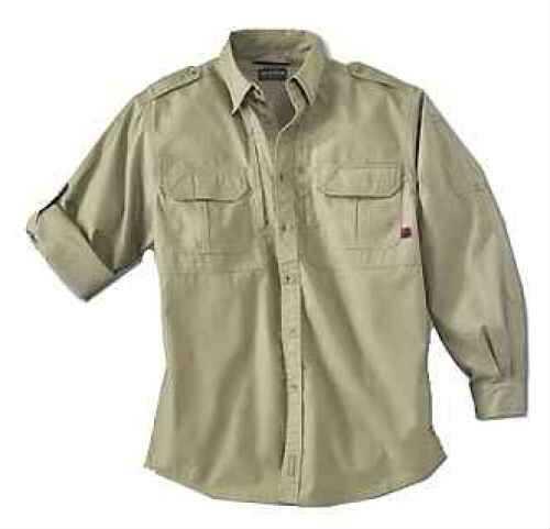 Woolrich Men's Long Sleeve Shirt Khaki Xx-Large Md: 44902-KH-Xxl