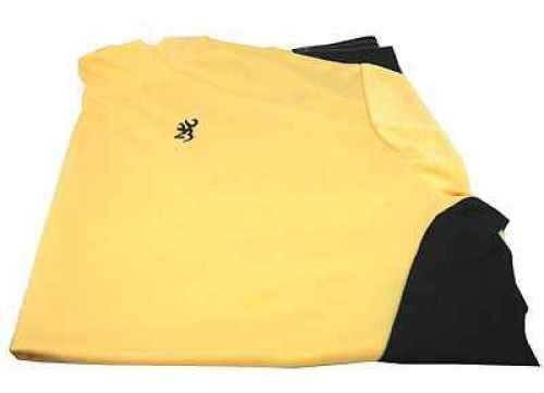 Browning NTS Short Sleeve Shooting Shirt Yellow, Medium Md: 3010396302