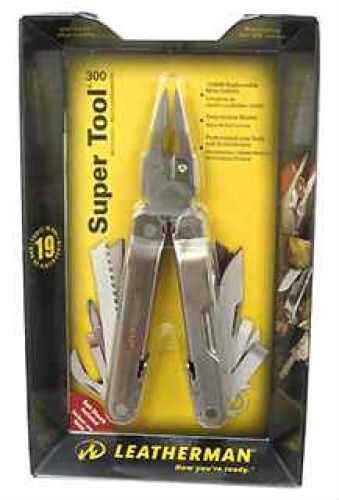 Leatherman Super Tool 300, Nylon/Leather Sheath Md: 831103
