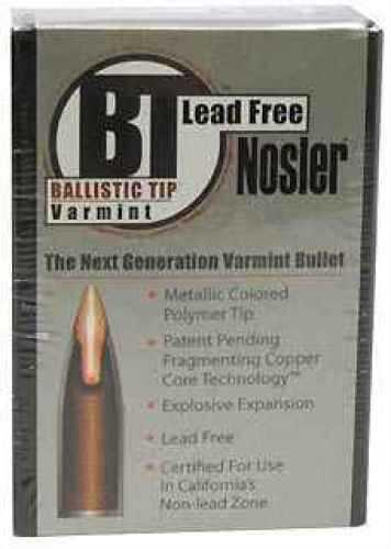 Nosler 22 Caliber (.224) 40gr. Ballistic Tip Lead Free Md: 45165 Bullets
