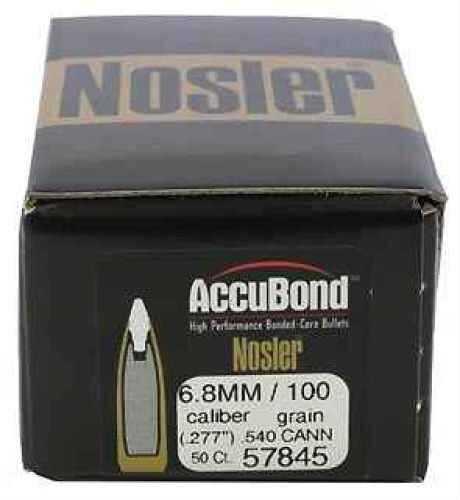 Nosler 6.8mm 100gr Cann .540 AccuBond (Per 50) Md: 57845 Bullets