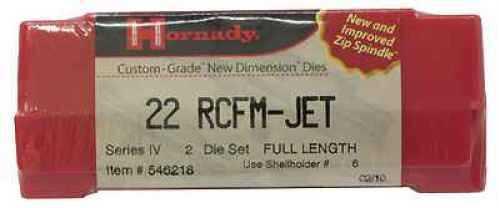 "Hornady Die Set 22 RCFM-Jet .224"" Md: 546218"