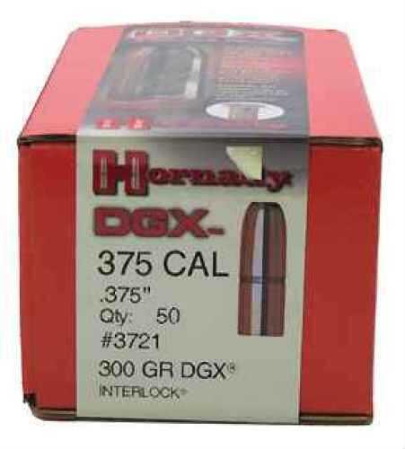 "Hornady 375 Caliber Bullets .375"" 300 Grain DGX (Per 50) Md: 3721"