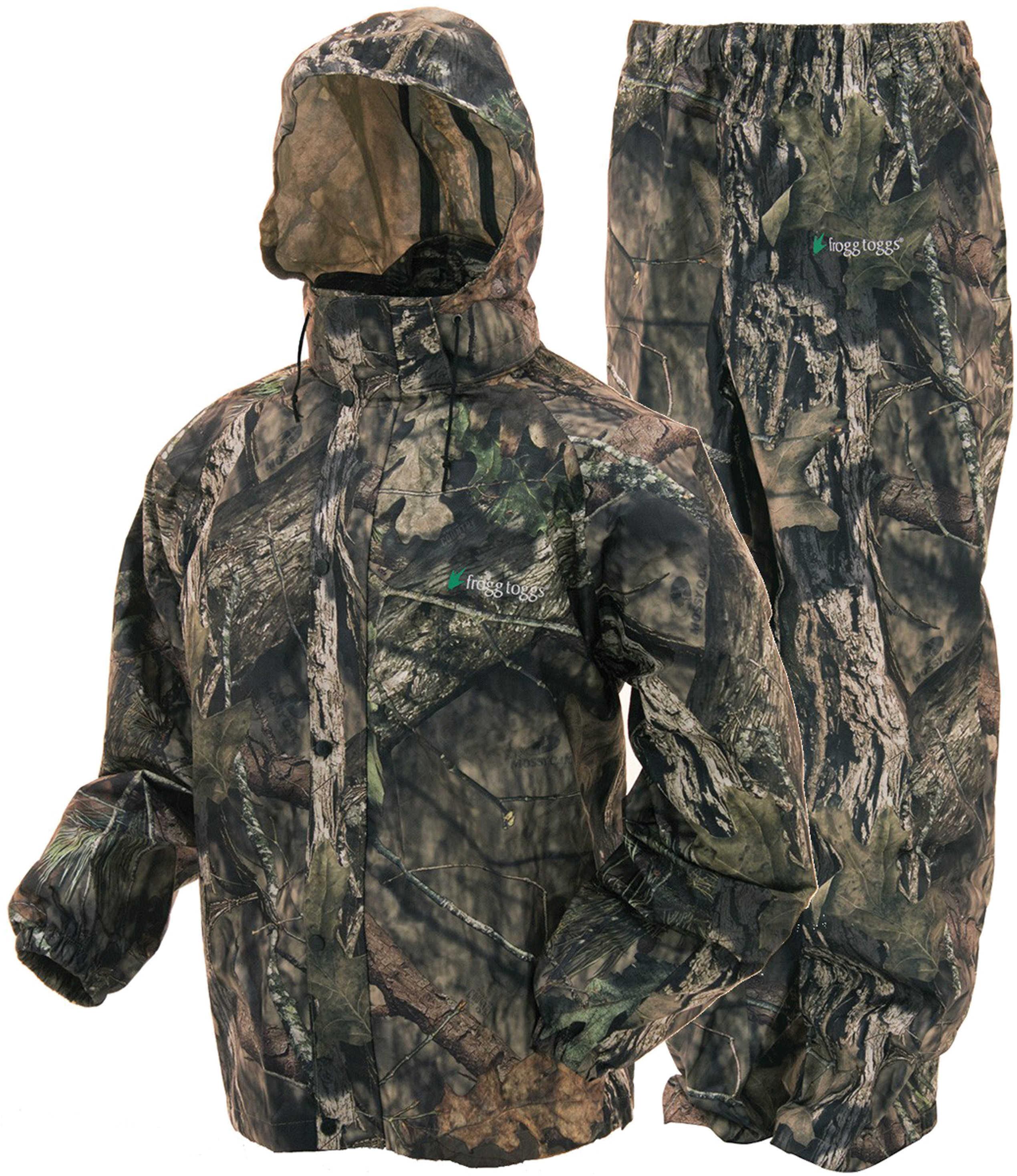 Frogg Toggs All Sport Rain Suit Mossy Oak Break Up Country Size-medium