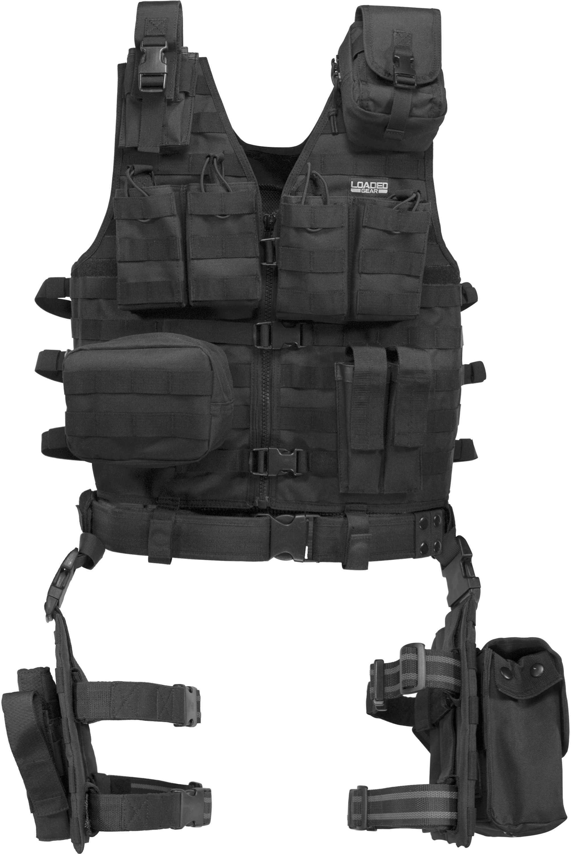 Barska Bi12016 VX-100 Tact Vest W/Leg