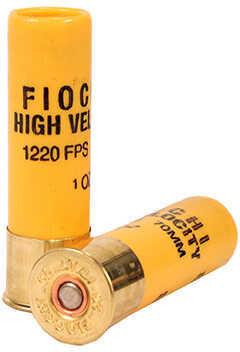 "Fiocchi High Velocity 20 Gauge 2-3/4"" 1 Ounce #8 Lead Shot Shotshells, 25 Rounds Per Box"